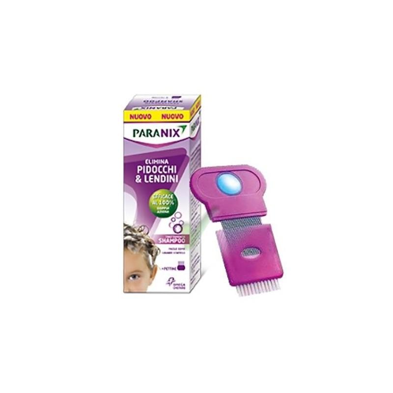 Paranix Shampoo Antipediculosi + Pettine Flacone 200 ml