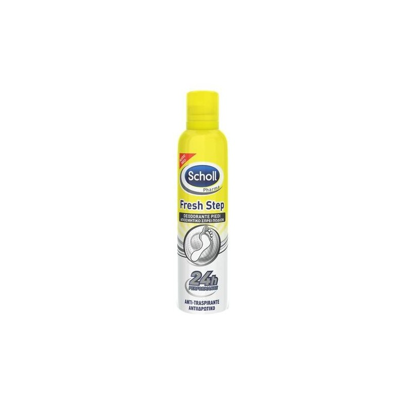 Dr. Scholl Fresh Step Deodorante Spray Piedi Antiodore 150 ml