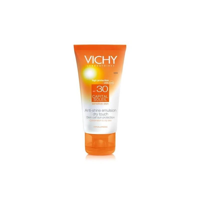 Vichy Ideal Soleil Crema Solare Viso Pelle Grassa SPF 30 Protezione Molto Alta 50 ml