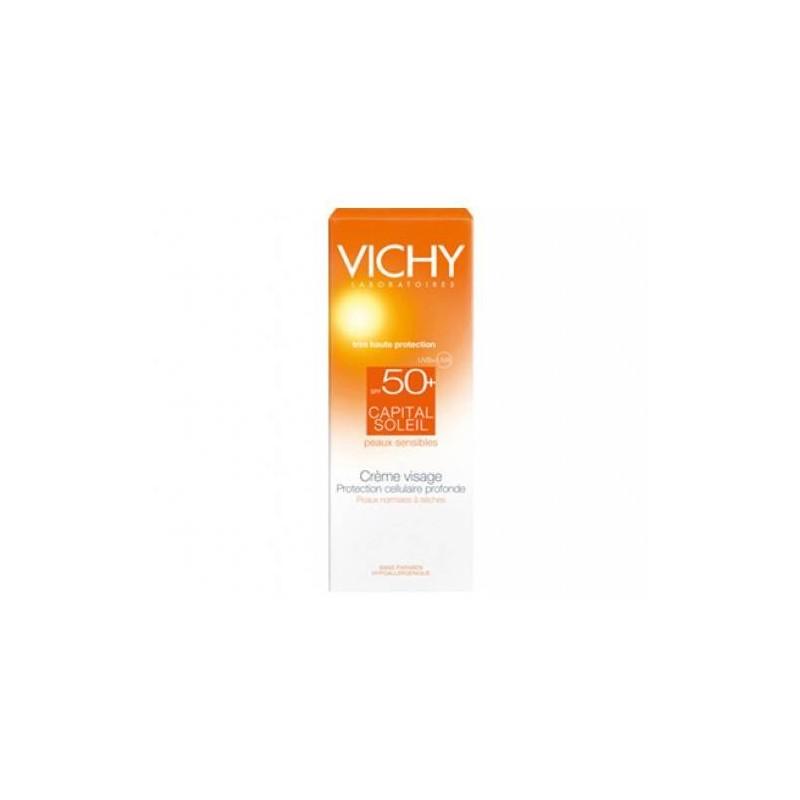 Vichy Ideal Soleil Crema Vellutata Perfezionatrice di Pelle SPF 50+ 50 ml
