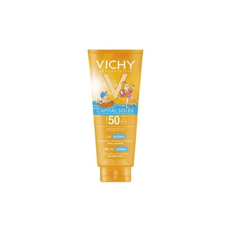 Vichy Capital Soleil Latte Solare Bambini SPF 50+ Protezione Molto Alta 300 ml