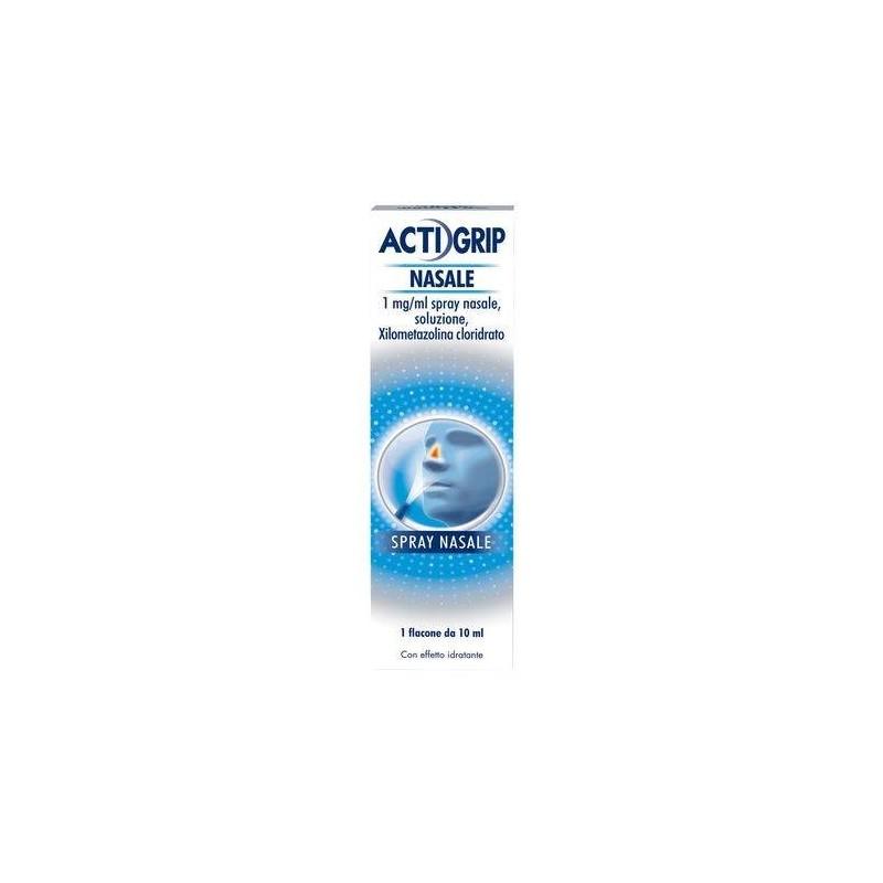 Actigrip Spray Nasale Flacone 10 ml