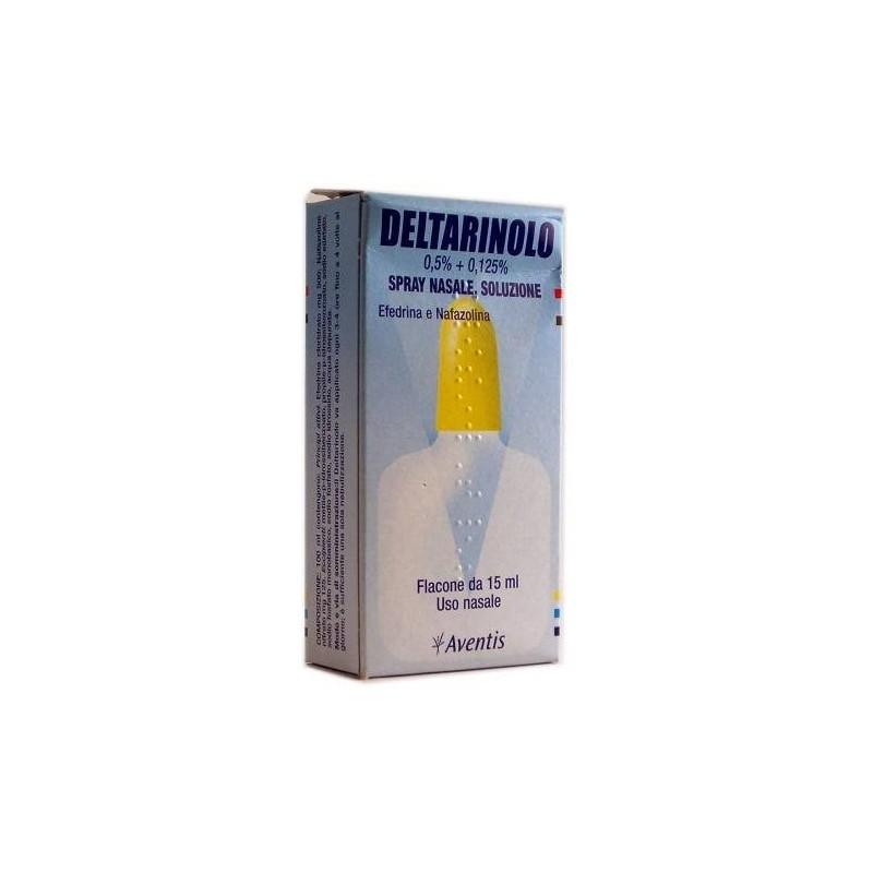 Deltarinolo Spray Nasale 0,5% + 0,125% Efedrina Cloridrato Flacone 15 ml