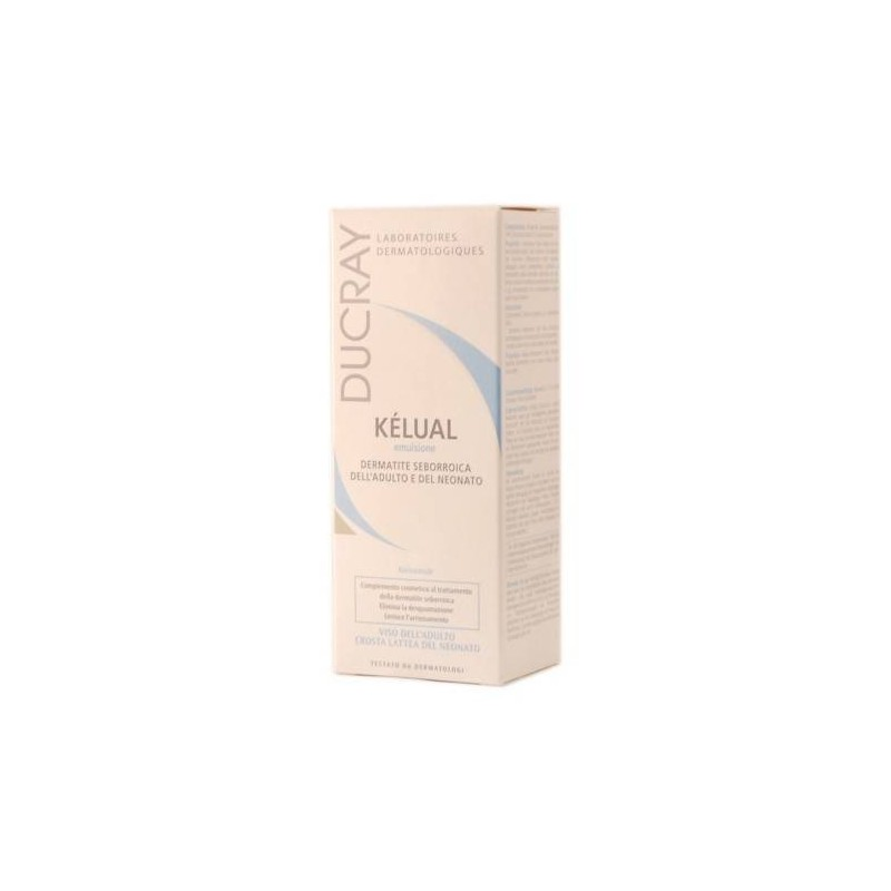 Ducray Kelual Emulsione Dermocosmetica per Dermatite Seborroica Viso e Corpo 50 ml