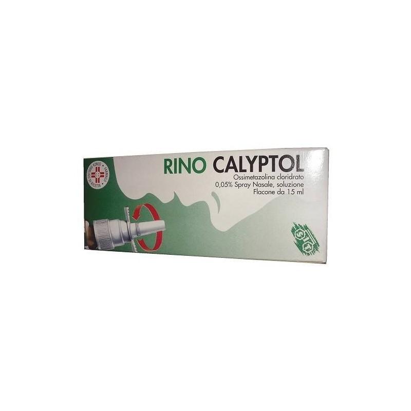 Rinocalyptol Spray Nasale Flacone 15 ml