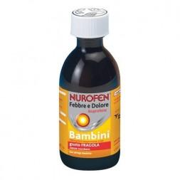 Nurofen Febbre e Dolore Bambini Sospensione orale Fragola 150 ml