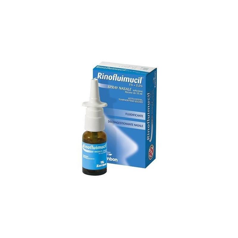 RinoFluimucil 1% + 0,5% N-Acetilcisteina Riniti Spray Nasale 10 ml