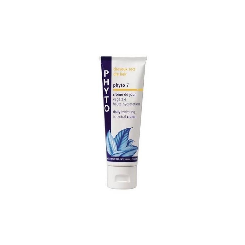 Phyto 7 Crema Da Giorno Idratazione Luminosità Capelli Secchi 50 ml