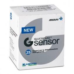 A. Menarini Glucocard G Sensor Strisce Reattive Glicemia 25 Pezzi