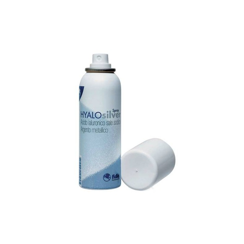 Hyalosilver Spray con Acido Ialuronico per Lesioni Cutanee 125 ml