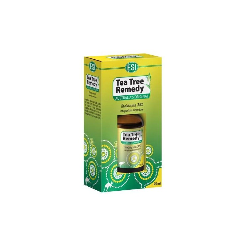 Esi Tea Tree Oil 100% Puro Antisettico Naturale 25 ml