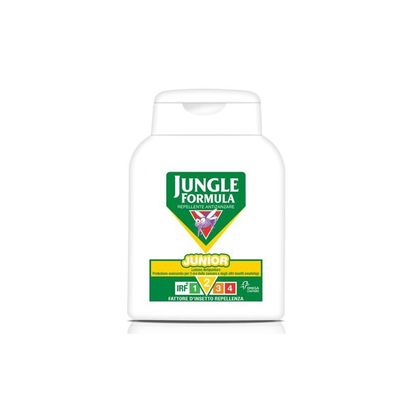 Jungle Formula Junior Lozione Repellente Antizanzara 125 ml