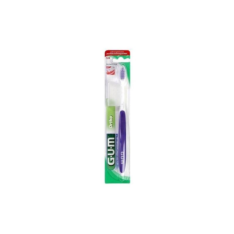Gum Ortho Spazzolino Ortodontico Setole Morbide