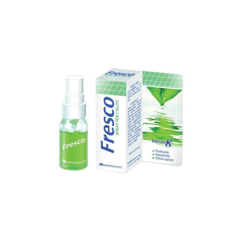Fresco Spray Per l'Alito Fresco Trattamento Anti-alitosi 15 ml