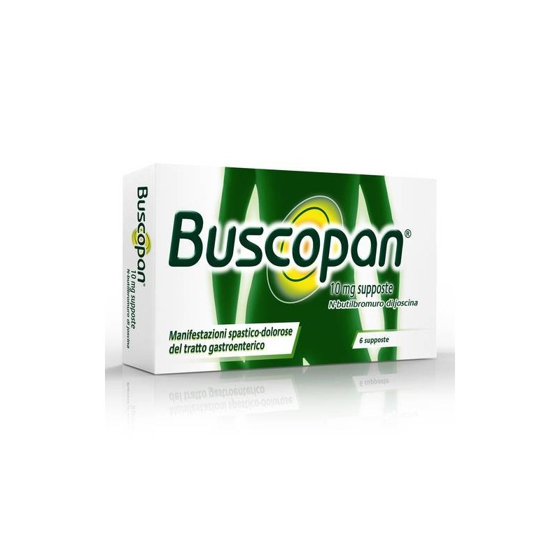 Buscopan 6 Supposte 10 Mg