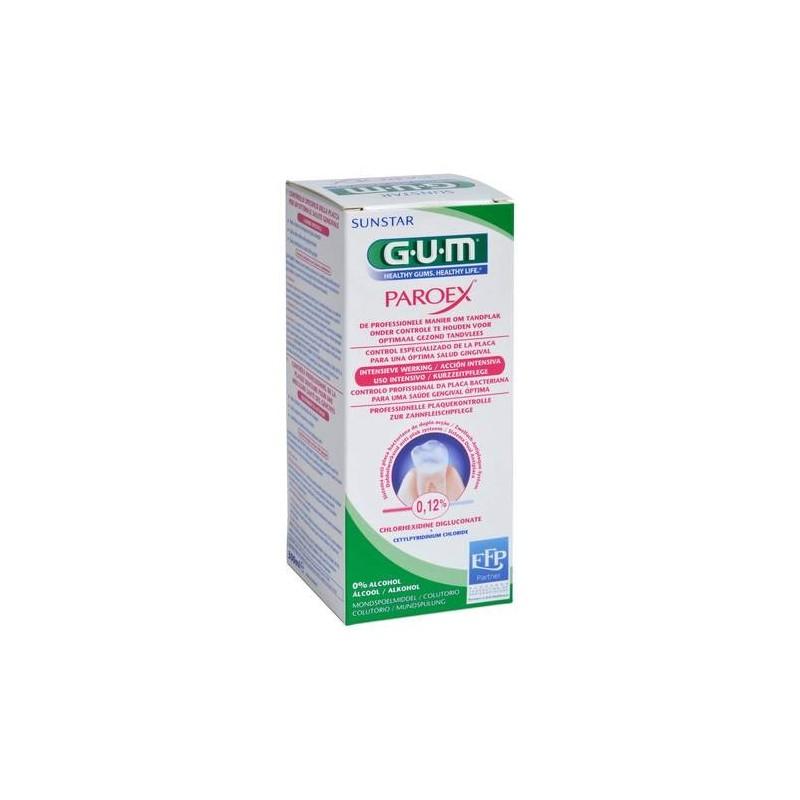 Gum Paroex Collutorio 0.12% Clorexidina per Gengiviti Parodontiti 300 ml