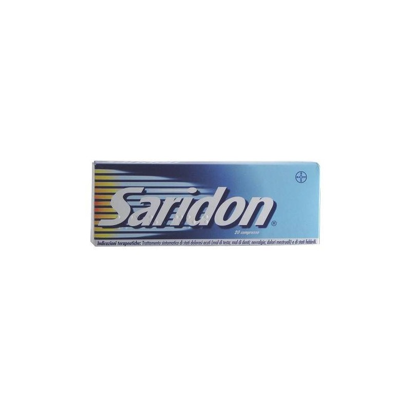 Saridon Compresse Paracetamolo / Propifenazone Antipiretico 20 Compresse