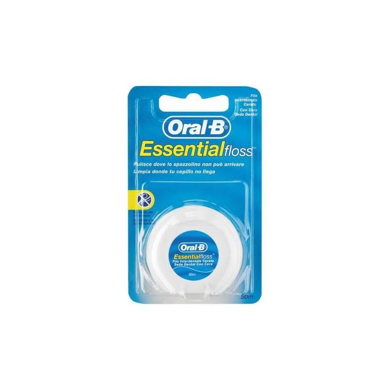 Oral-B Essential Floss Filo Interdentale Cerato 50 metri