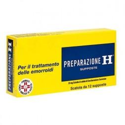 Preparazione H 23 Mg Emorroidi 12 Supposte