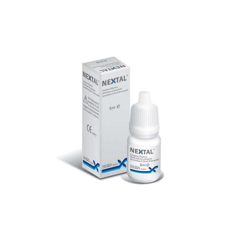Nextal Soluzione Oftalmica Lubrificante ed Idratante 8 ml