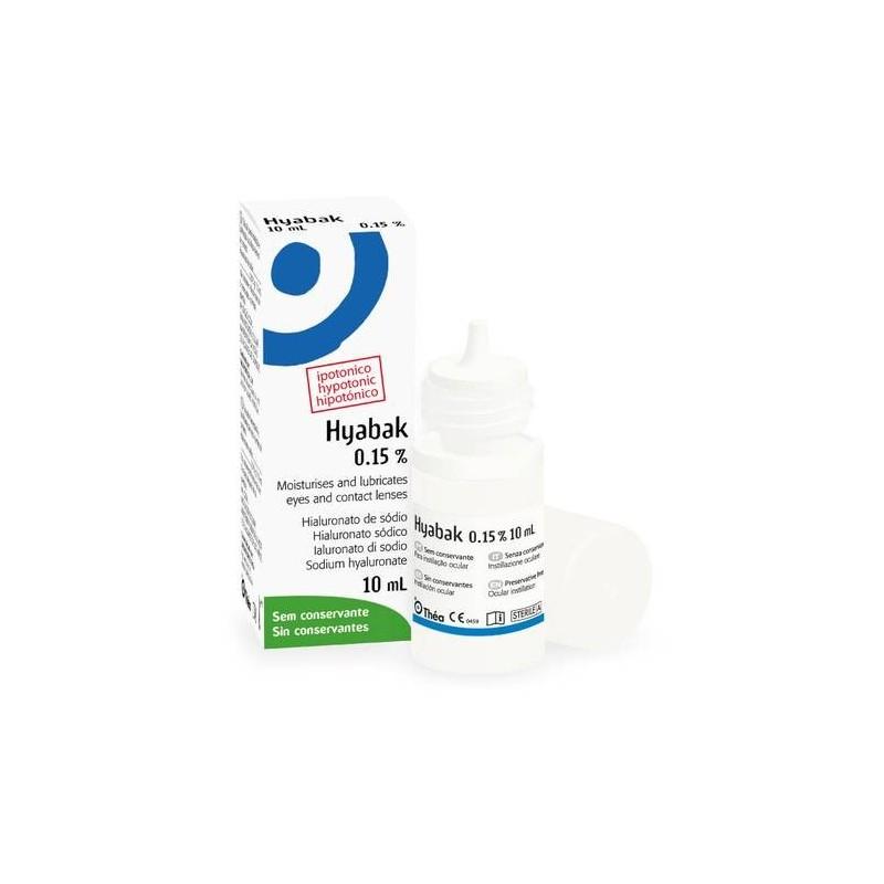 Hyabak 0,15% Soluzione Oftalmica 10 ml