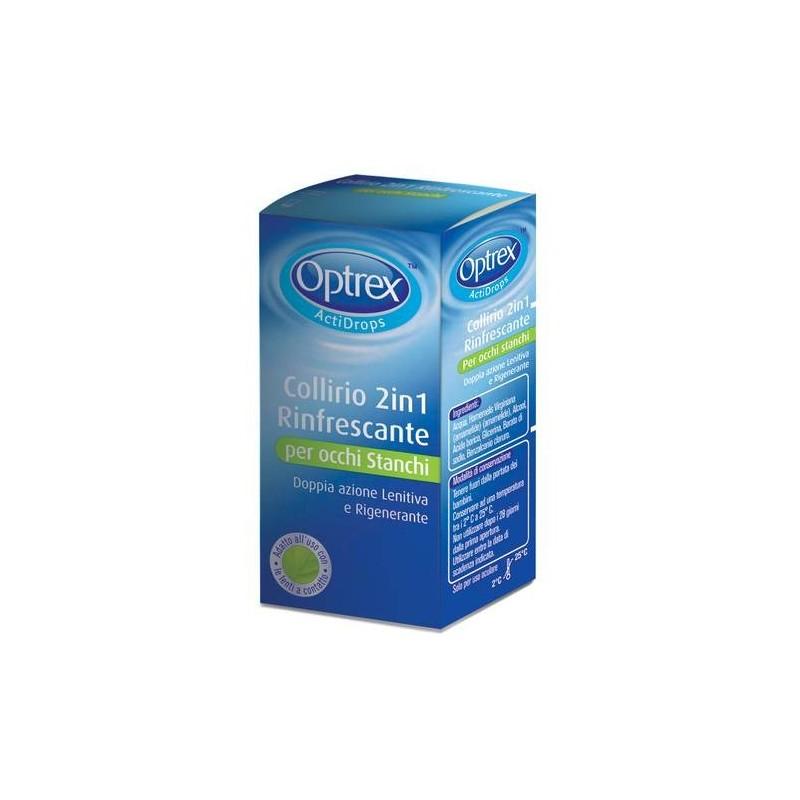 Optrex ActiDrops 2 In 1 Collirio Rinfrescante 10 ml