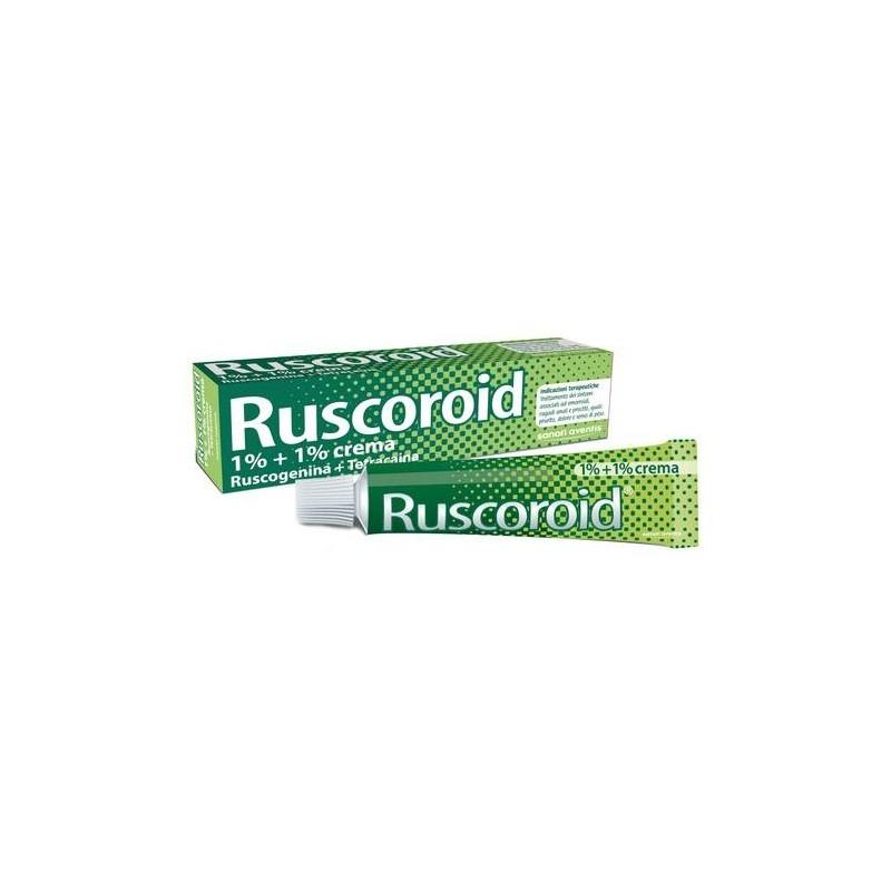 Ruscoroid Crema Rettale 40 gr 1%+1%