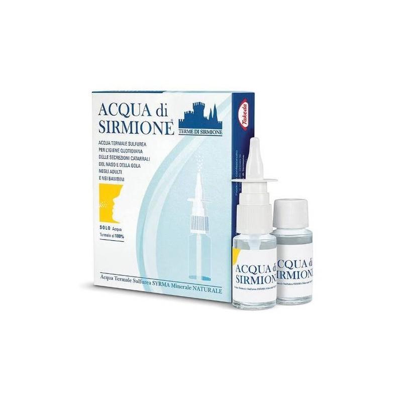 Acqua di Sirmione Fluidificante Nasale Anti-Catarro 6 Flaconcini 15 ml