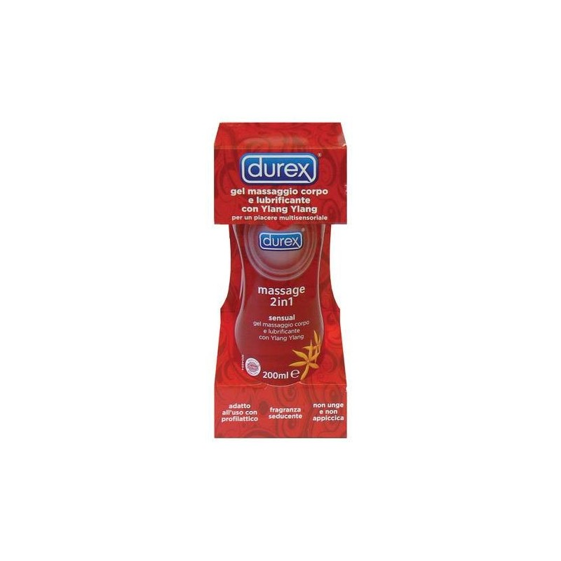 Durex Lubrificante Massage 2in1 con Ylang Ylang 200 ml