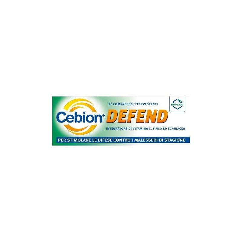 Cebion Defend Integratore Sistema Immunitario 12 Compresse Effervescenti