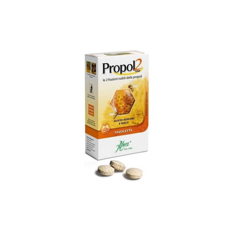 Aboca Propol2 Emf Agrumi e Miele 30 Tavolette