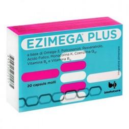 Ezimega Plus Integratore Controllo Colesterolo 20 apsule Molli