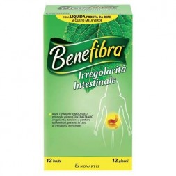 Benefibra Novafibra Liquido Integratore Flora Intestinale 12 Bustine
