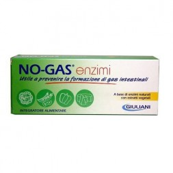 Giuliani No-Gas Enzimi Integratore Gas Intestinali 30 Compresse