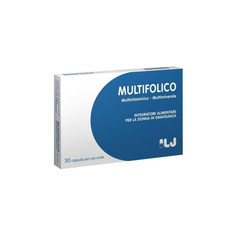 Multifolico Integratore Gravidanza 30 Capsule