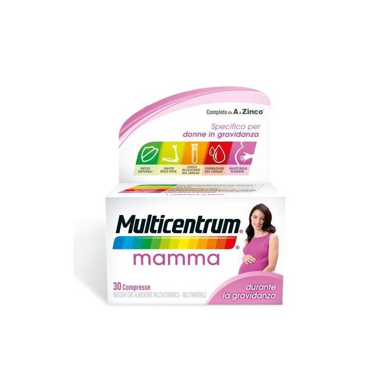 Multicentrum Mamma Integratore Gravidanza 30 Compresse