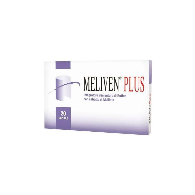 Meliven Plus Integratore Microcircolo 20 Capsule