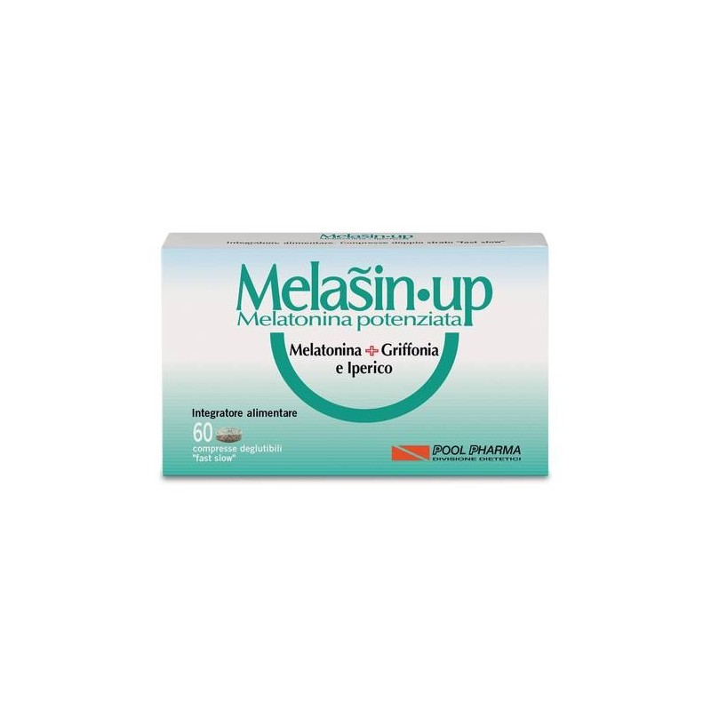 Melasin-Up 1mg Integratore Melatonina 60 Compresse
