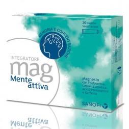 Mag Mente Attiva Integratore Magnesio 20 Bustine