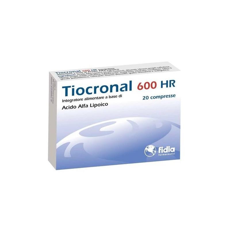 Tiocronal 600 Hr Integratore Neurologico 20 Compresse