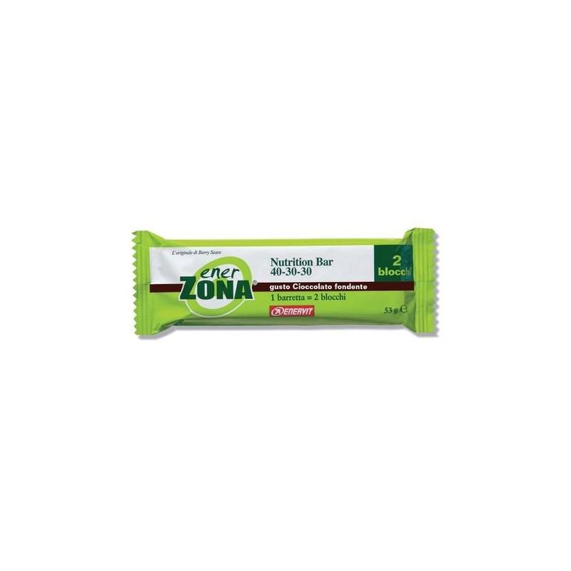 Enerzona Nutrition Bar 40-30-30 Barretta Cioccolato Fondente 53g