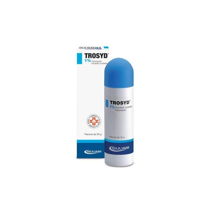 Trosyd Polvere Cutanea 30 gr 1%