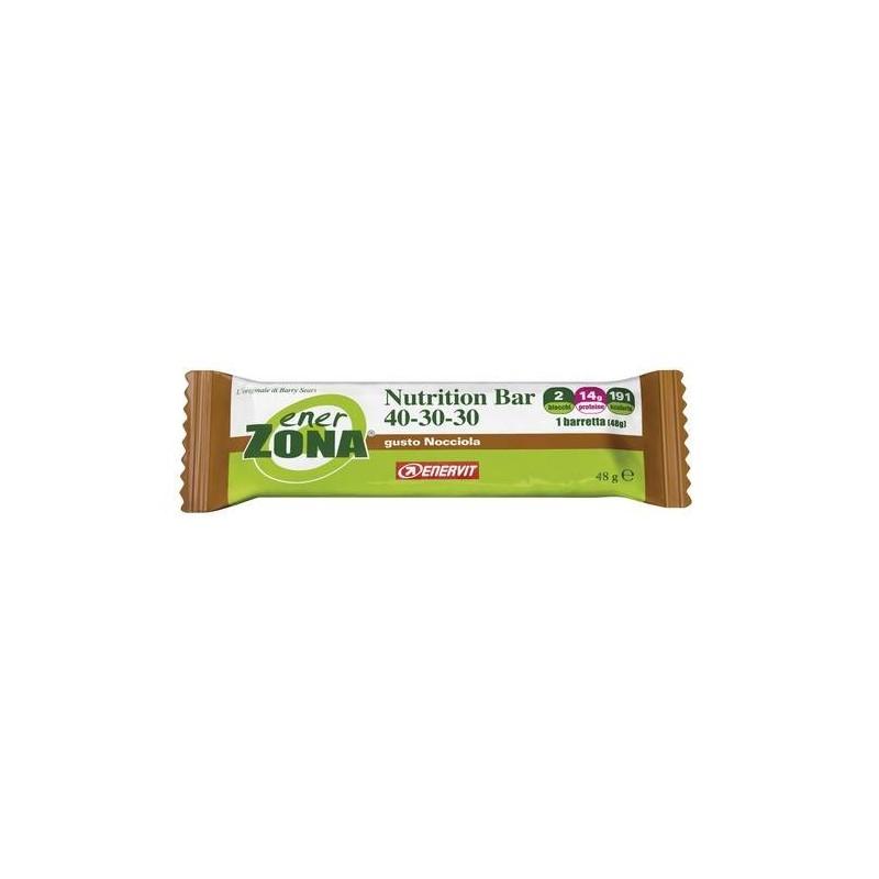 Enerzona Nutrition Bar 40-30-30 Barretta Nocciola 48g