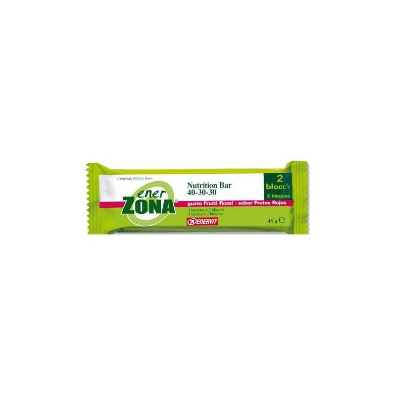 Enerzona Nutrition Bar 40-30-30 Barretta Frutti Di Bosco 48g