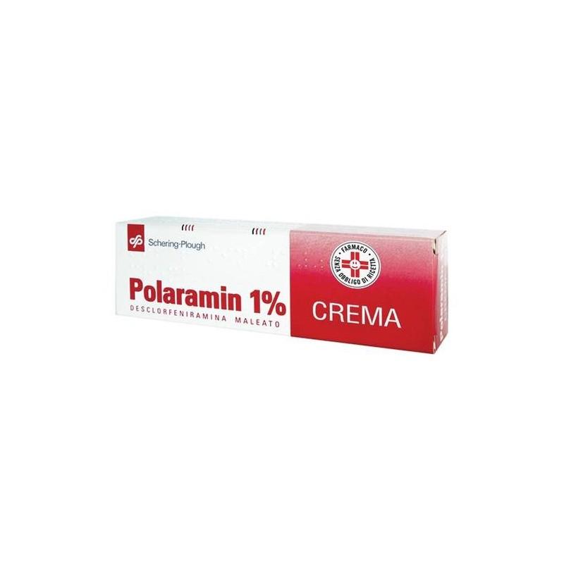 Polaramin 1% Desclorfeniramina maleato Crema Dermatiti 25 gr