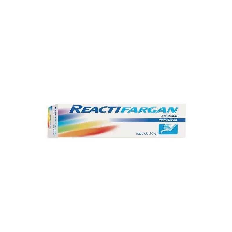 Reactifargan Crema 2% Prometazina Antistaminico Cutaneo 20g