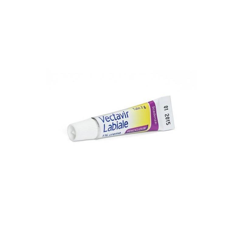 Vectavir Labiale Crema 2 grammi 1%
