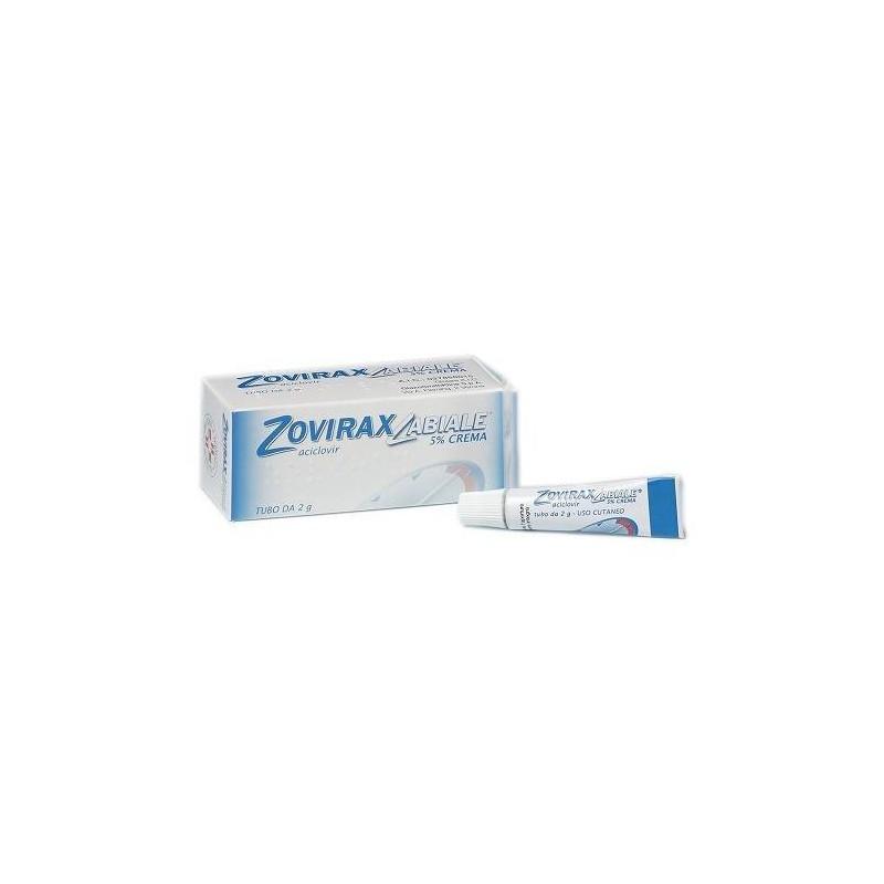 Zoviraxlabiale Crema 2 grammi 5%