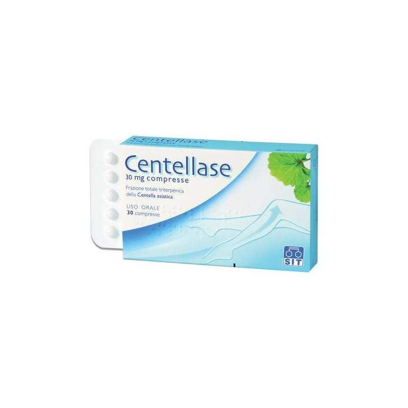 Centellase Centella asiatica 30 mg Insufficienza Venosa 30 Compresse