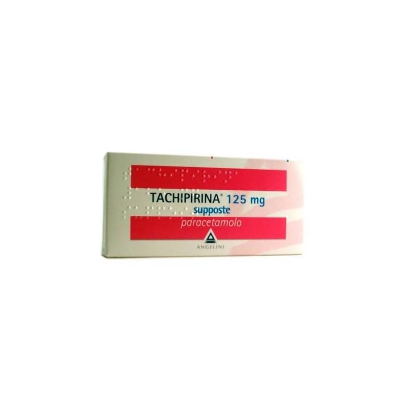 Tachipirina Prima Infanzia 125mg Paracetamolo 10 Supposte